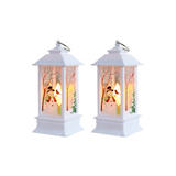 (2 Pack) LED Christmas Crystal Lights