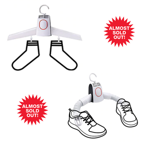 2pk Electric Clothes and Shoe Dryer