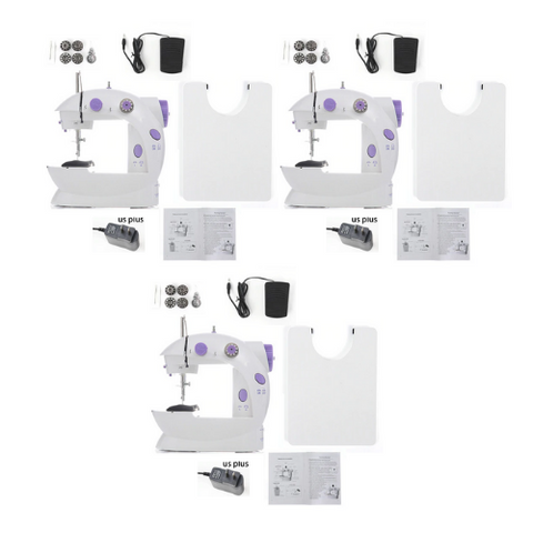 (3 Pack) Mini Sewing Machine