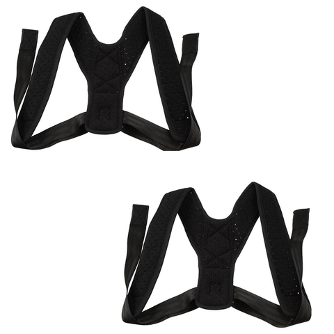 (2PK) Posture Corrector (Adjustable to All Body Sizes)