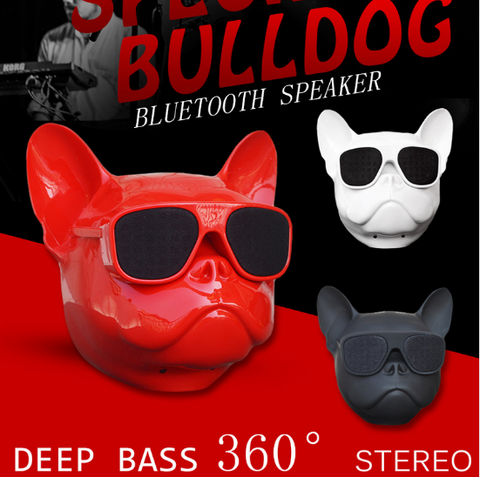3 Pack Nano Wireless Speaker Bulldog Bluetooth Speaker Outdoor Portable HIFI Bass Speaker Multipurpose Touch Control