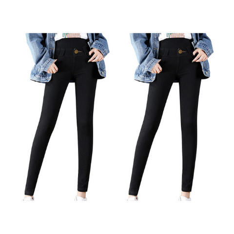 2 Pack- Thermal Fleece Denim Jeggings