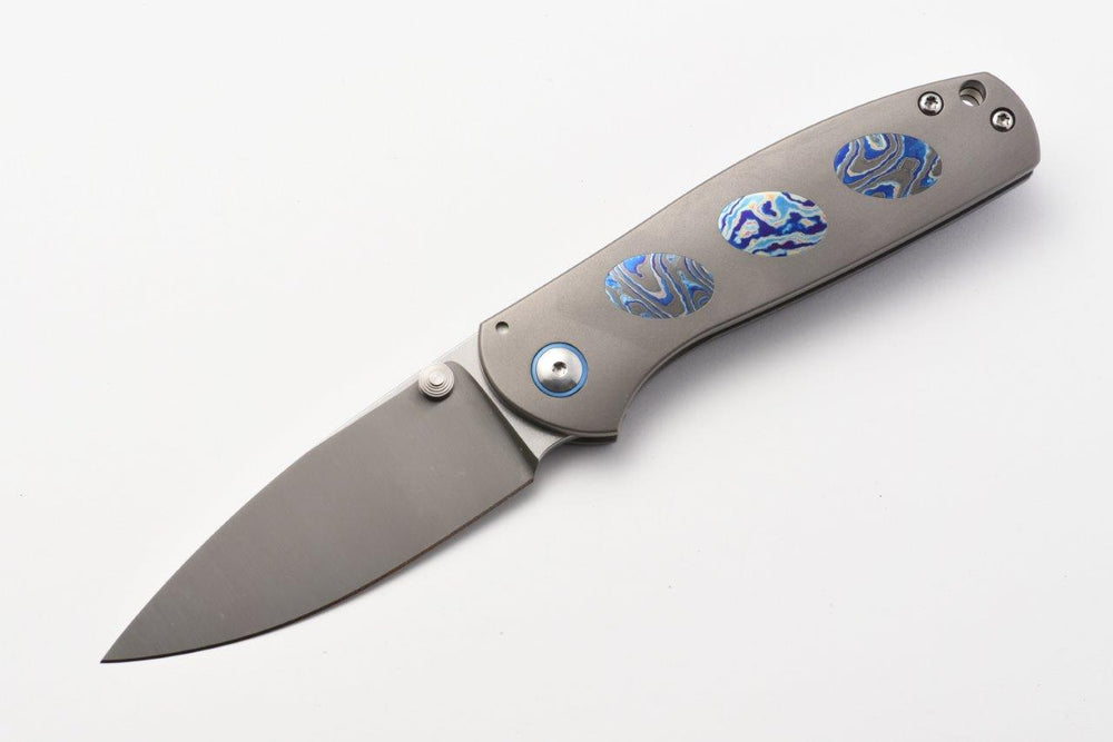Jasmine Framelock w/ DarkTi Inlay