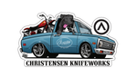 Christensen Knifeworks Decal