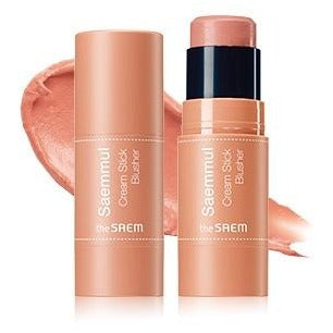 The Saem - Saemmul Cream Stick Blusher Coral Ending