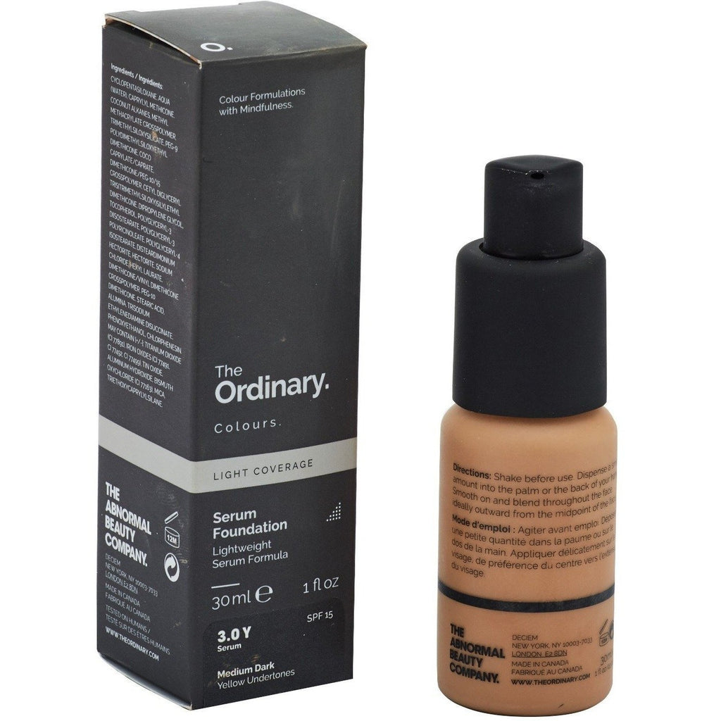 The Ordinary - Serum Foundation Medium Dark 3.0Y