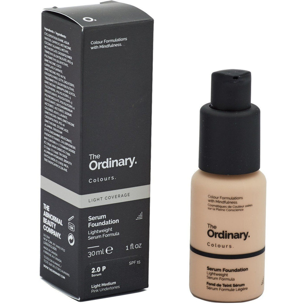 The Ordinary - Serum Foundation Light Medium 2.0P