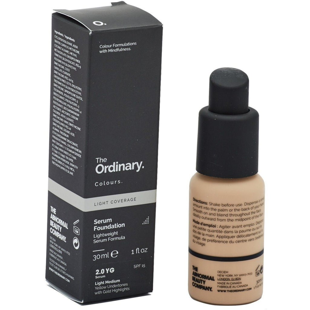 The Ordinary - Serum Foundation Light Medium 2.0YG