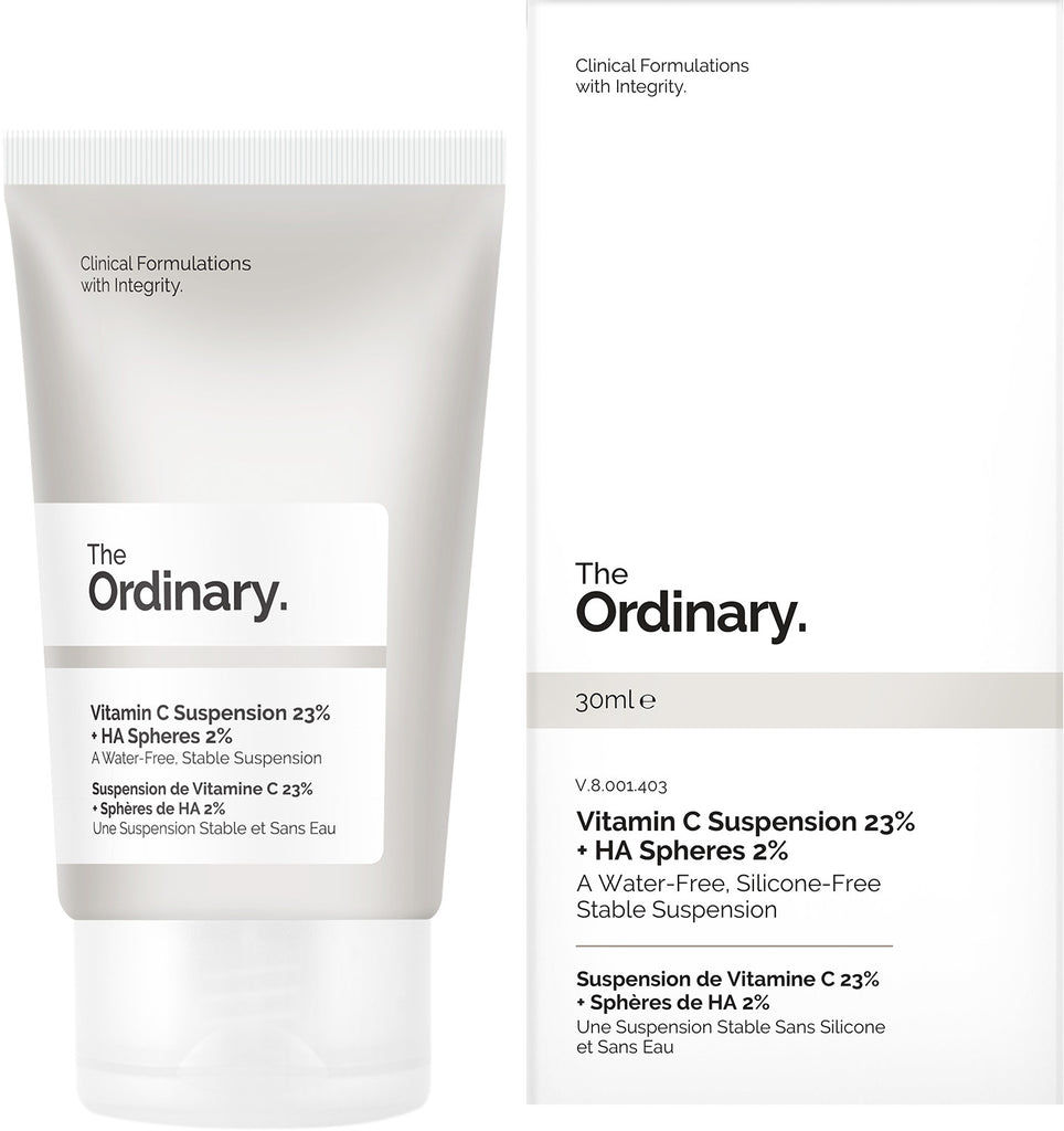 The Ordinary - Vitamin C Suspension 23% + HA Spheres 2% 30ml