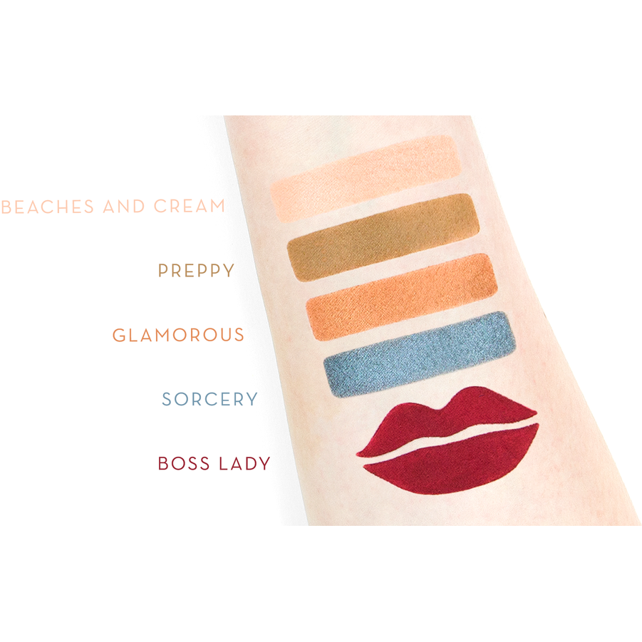 MAKEUP GEEK - BOSS LADY COLOUR COMBINATION