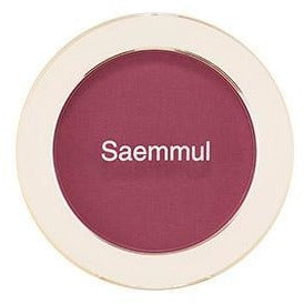 The Saem - Saemmul Single Blusher Wild Plum