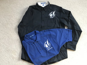 CoCoRaHS polo and twill shirts
