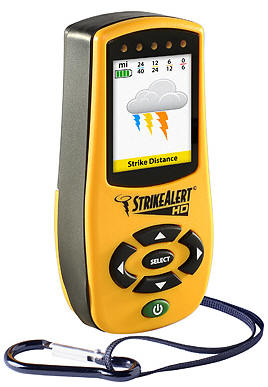 StrikeAlert HD lightning detector