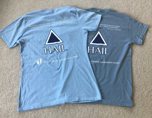 CoCoRaHS precipitation series shirts - HAIL