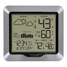 Load image into Gallery viewer, La Crosse wireless weather station with barometric pressure 308-1417