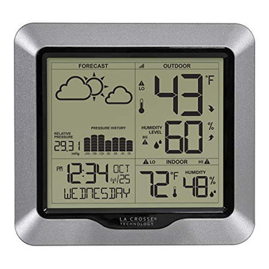 La Crosse wireless weather station with barometric pressure 308-1417