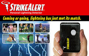 StrikeAlert PAGER lightning detector