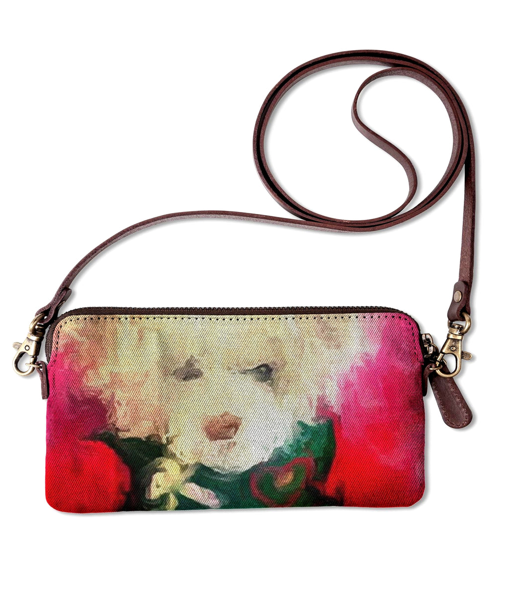 """Christmas  Teddy ""Clutch Lady Barbara Pinson Artist"