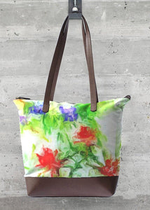 """Early Spring"" Statement Bag by Lady Barbara Pinson Artist"