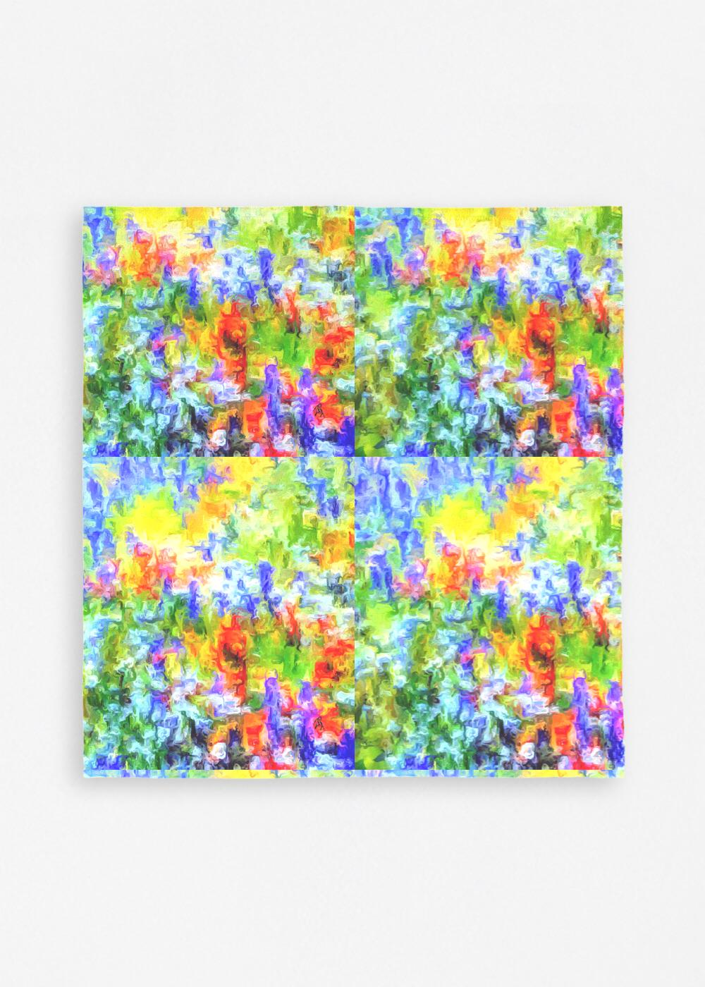 """Field of Glory"" Napkins Lady Barbara Pinson Artist Home Collection"