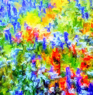 """Fields of Glory"" - Cocoon Wrap Lady Barbara Pinson Artist"