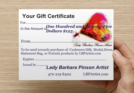 SPECIAL DEAL: Gift Certificate Comes Gift Wrapped
