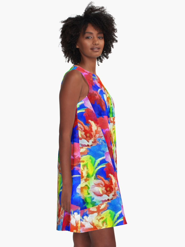"""Kori's Bouquet"" A-line Dress"
