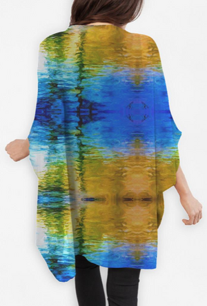 """Water Water 3"" - Cocoon Wrap"