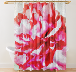 "Shower Curtain "" Peonies From Heaven"" Lady Barbara Pinson Artist Home Collectin"