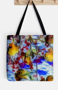 """ Winter Wild"" Tote by Lady Barbara Pinson Artist"