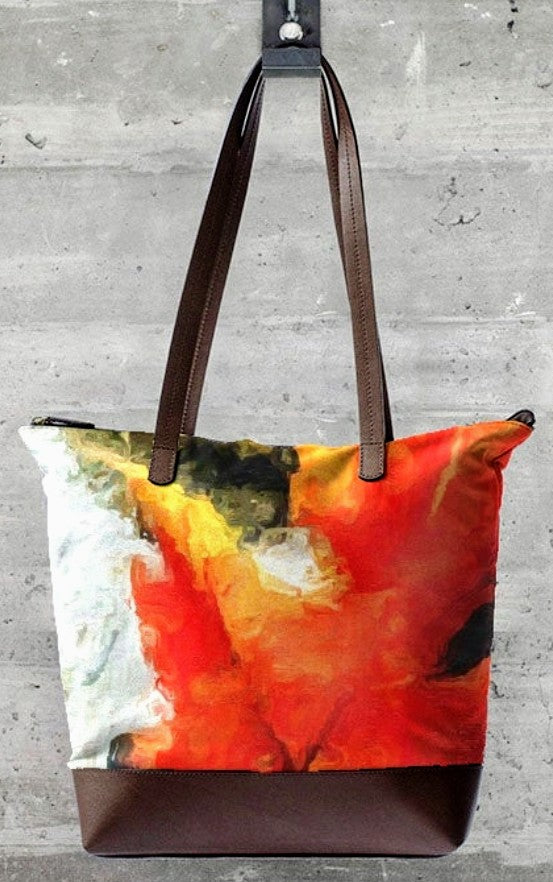 """Falling for You"" Luxury Statement Bag Lady Barbara Pinson Artist"