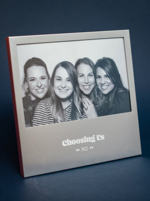 "XO ""Choosing Us"" Picture Frame"