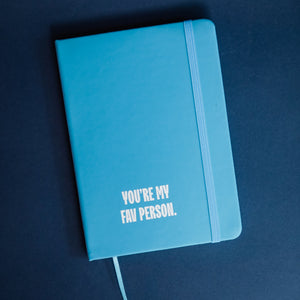 "XO Journal ""You're My Fav Person"""