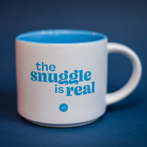"XO Stackable Mug - ""The Snuggle is Real"""