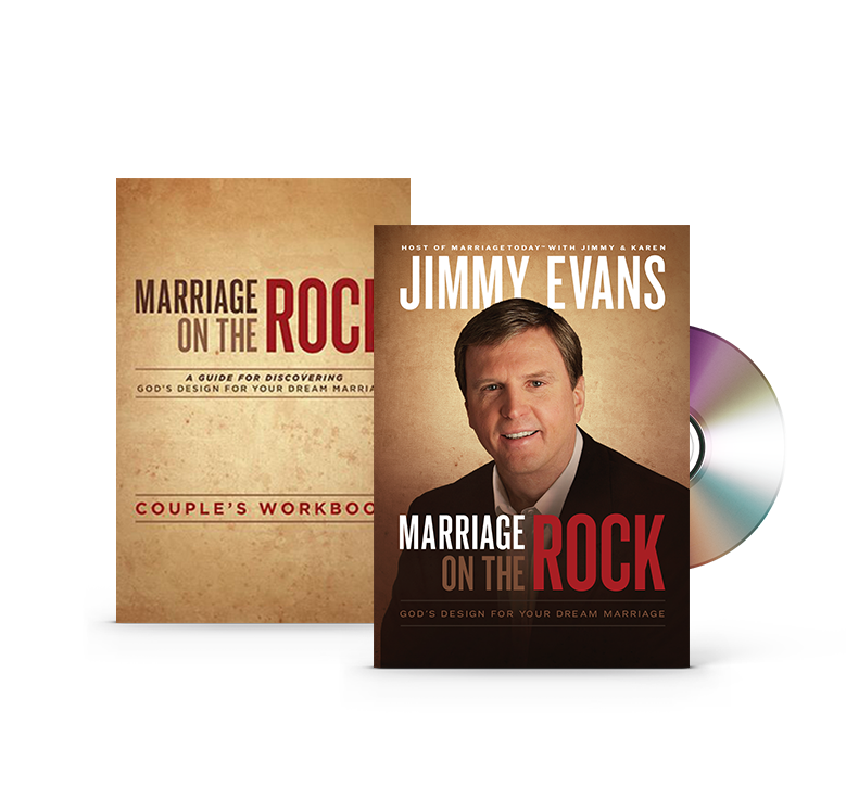 Marriage on the Rock DVD + Couple's Discussion Guidebook