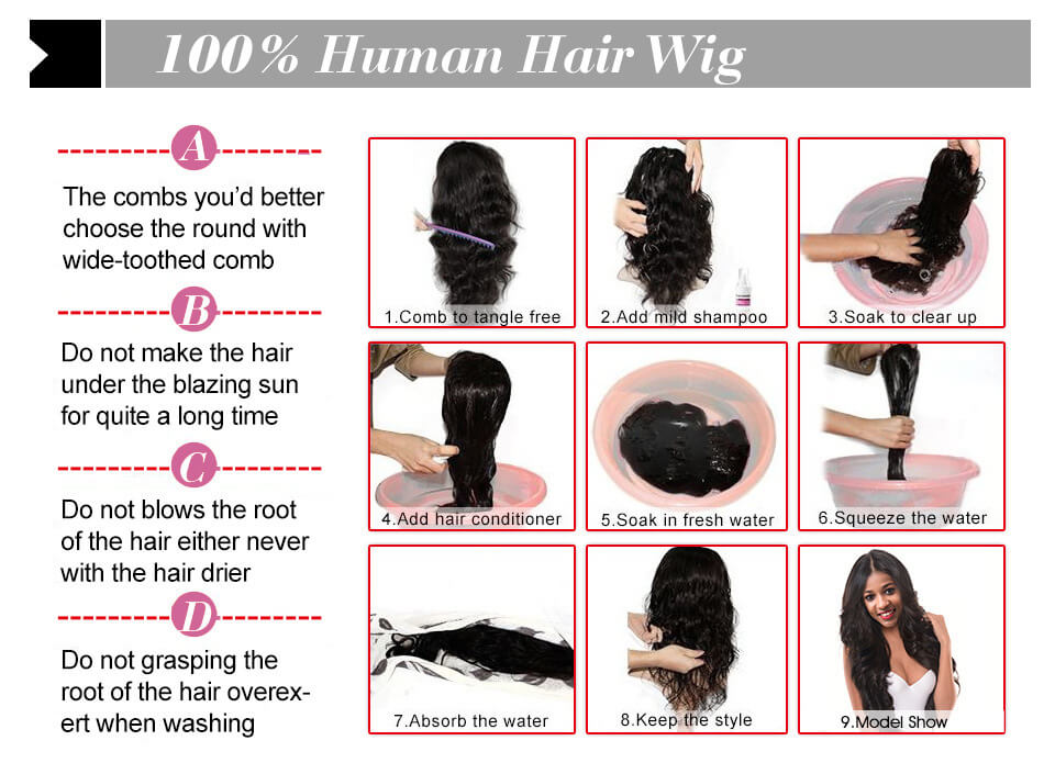 hairthy how to clean human hair