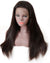Hairthy Remy 100% Human Hair Straight 360 Lace Frontal Closure Wigs 180 Density