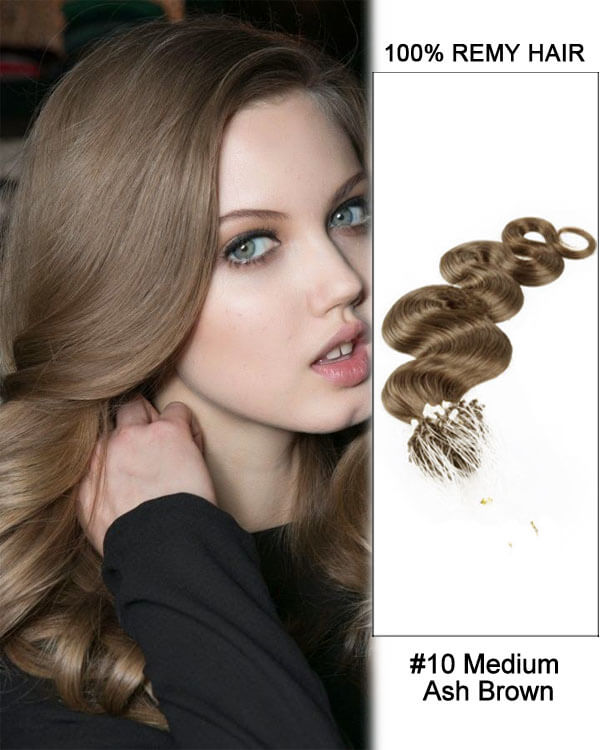 Hairthy Body Wave Micro Loop 100% Remy Hair Human Hair Extensions