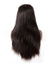Hairthy Remy 100% Human Hair Straight 360 Lace Frontal Closure Wigs 180 Density Back