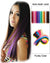 Hairthy Colored Tape in Brazilian Remy Hair Human Hair Extensions-20 Pieces Funky Colors Lookbook