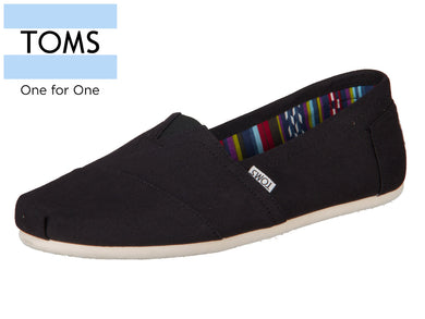 TOMS 10000862 black Canvas