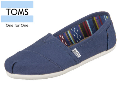 TOMS 10000873 navy Canvas