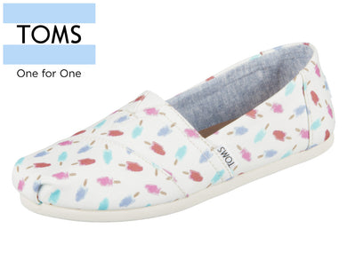 TOMS Classic 10011644 white Canvas