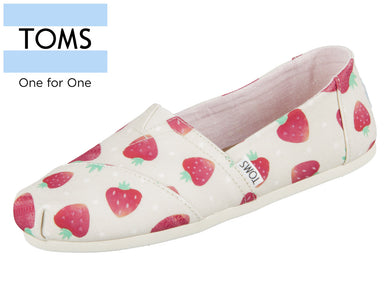 TOMS Classic 10011650 natural Birch strawberries