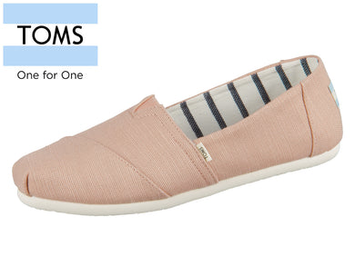 TOMS Alpargata 10013519 coral pink heritage Canvas