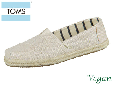 TOMS Alpargata 10013508 natural pearlized Canvas