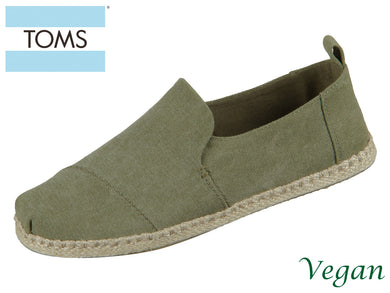 TOMS Deconstructed Alpargata Rope 10011624 olive Canvas