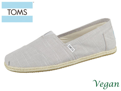 TOMS Alpargata 10008381 grey Canvas