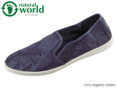 natural world 315E-677 marino enz Baumwolle