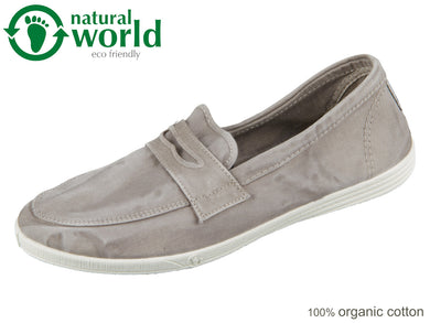 natural world 316E-670 gris claro Baumwolle